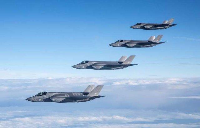 جنگنده های اف 35 وارد ناوگان پنجم آمریکا در بحرین شدند