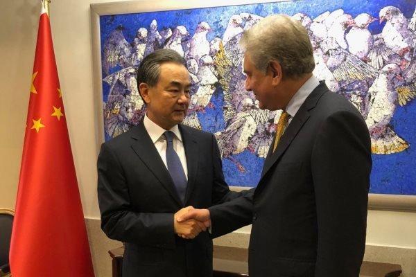 دیدار وزرای خارجه چین و پاکستان در اسلام آباد