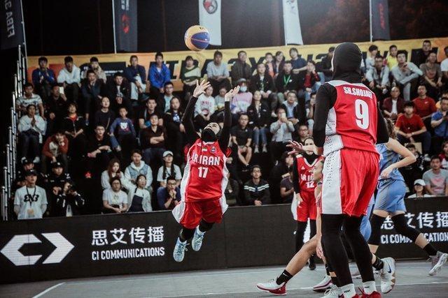 المپیک جوانان آرژانتین، شکست تیم بسکتبال سه نفره دختران مقابل آلمان