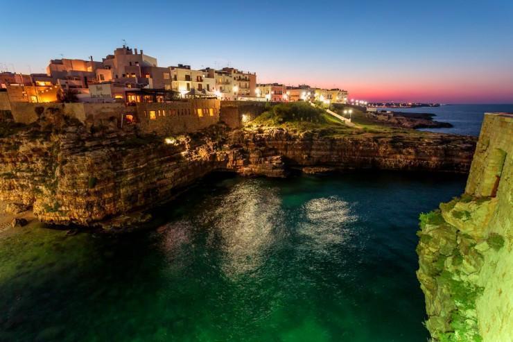 تعطیلات در شهر ساحلی در ایتالیا