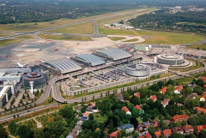 آشنایی با فرودگاه هامبورگ آلمان (Hamburg Airport)
