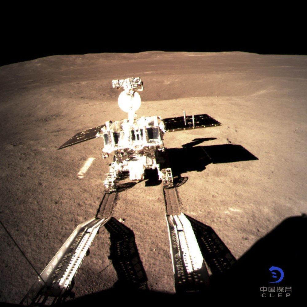 حرکت سطح نورد چینی روی ماه