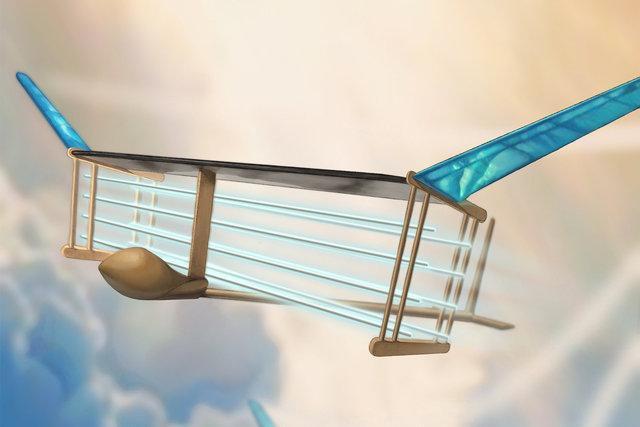 نخستین هواپیمای بدون سیستم پیشرانه ساخته شد