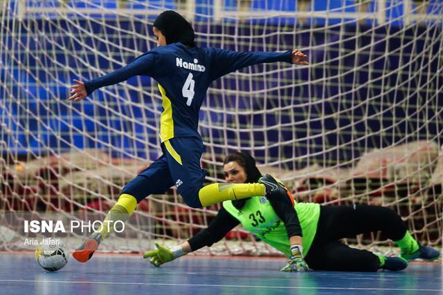 تقابل نامی نو با قعرنشین جدول در لیگ برتر فوتسال بانوان