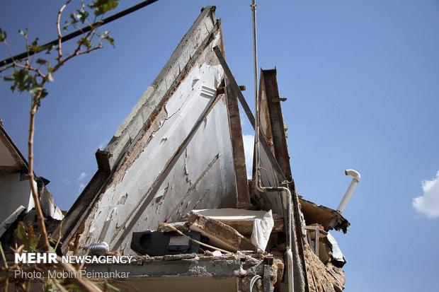 یک باب مغازه بر اثر نشت گاز در خرمشهر منفجر شد
