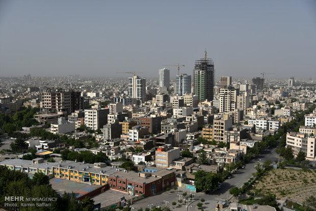 کیفیت هوای مشهد در شرایط پاک نهاده شد