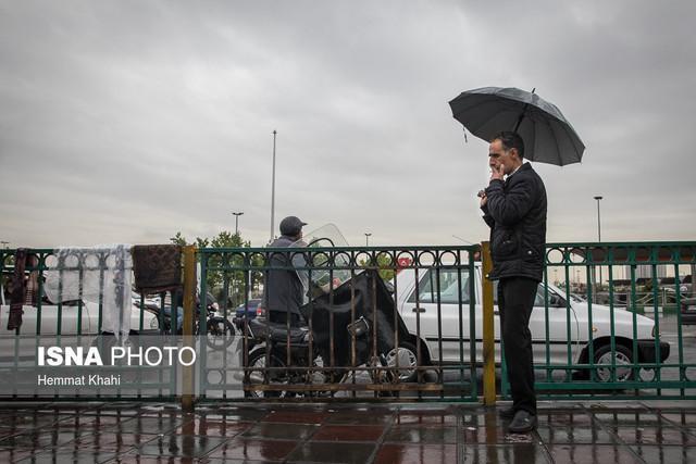 ادامه بارش ها در بیشتر استان ها