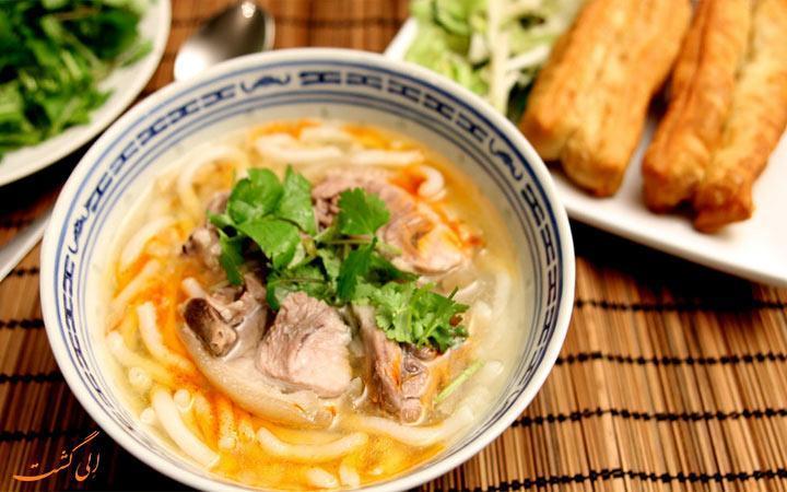 معروف ترین نودل های هانوی ویتنام