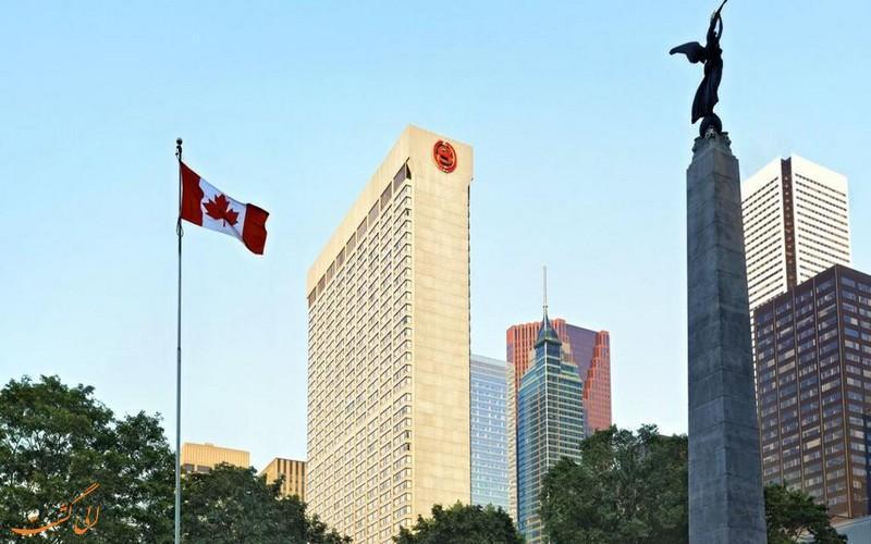 با هتل 4 ستاره شرایتون تورنتو کانادا آشنا شوید