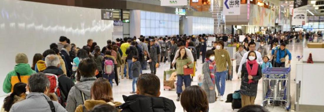 درآمد گردشگری ژاپن از فروش قطعات الکترونیکی پیشی گرفت ، مقایسه شمار گردشگران خارجی در ژاپن و چین