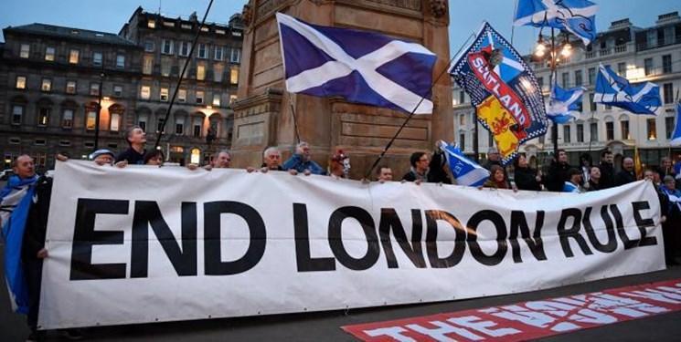 اکثریت مردم اسکاتلند با جدایی از بریتانیا موافق هستند