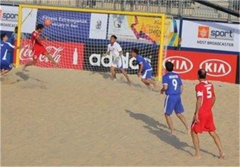 2 دیدار محبت آمیز تیم فوتبال ساحلی ایران با ایتالیا