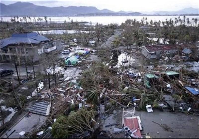 وقوع رانش زمین در ویتنام درپی طوفان هایان