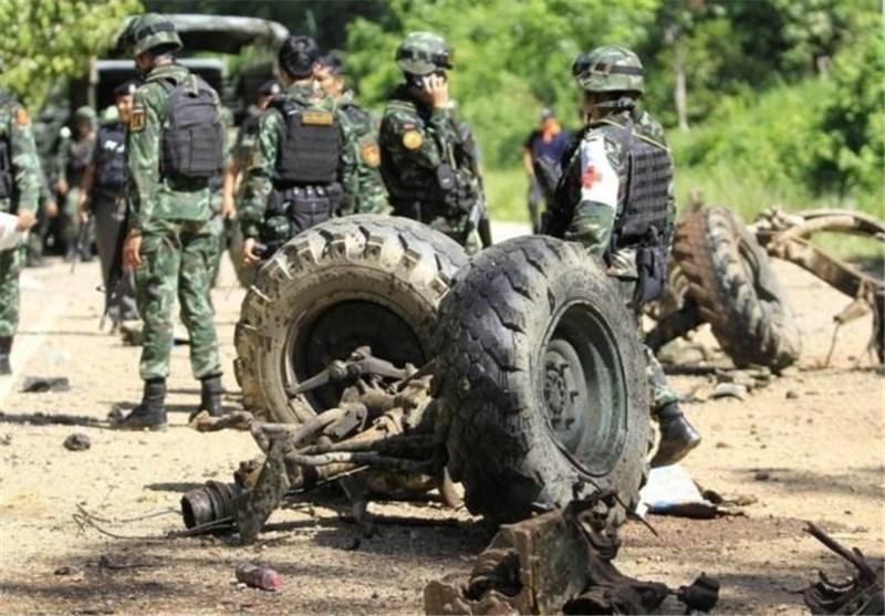 5 پلیس تایلندی توسط شورشیان به قتل رسیدند