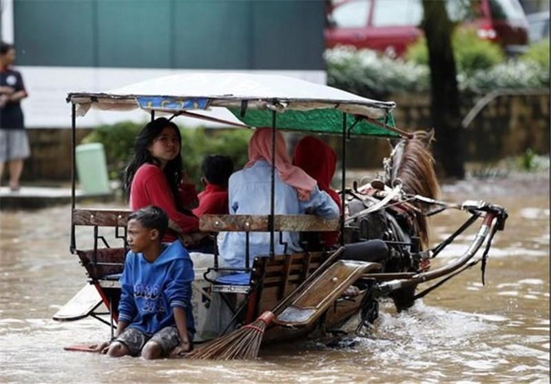 تصاویر جاکارتا زیر آب