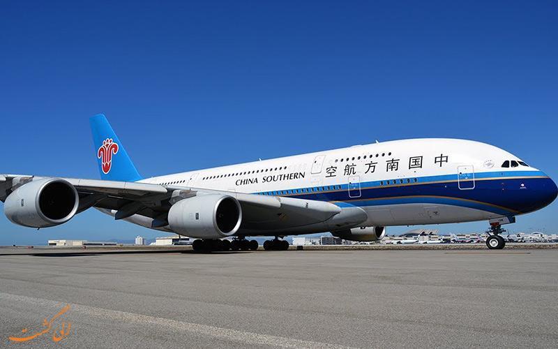 معرفی شرکت هواپیمایی چین جنوبی