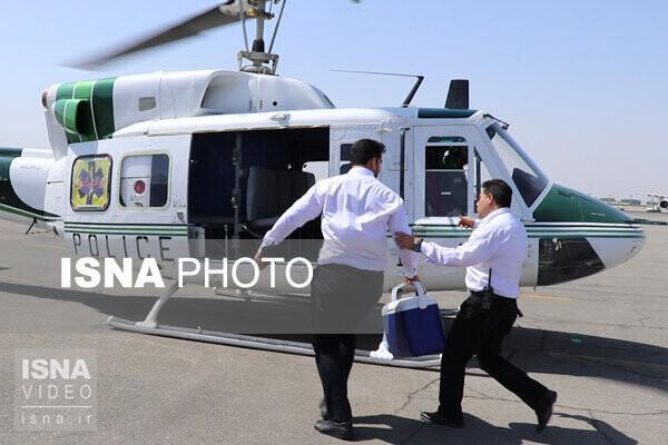 هفتمین انتقال قلب بین استانی روز عاشورا با موفقیت انجام شد