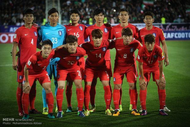 پیروزی تیم ملی فوتبال کره جنوبی مقابل کانادا