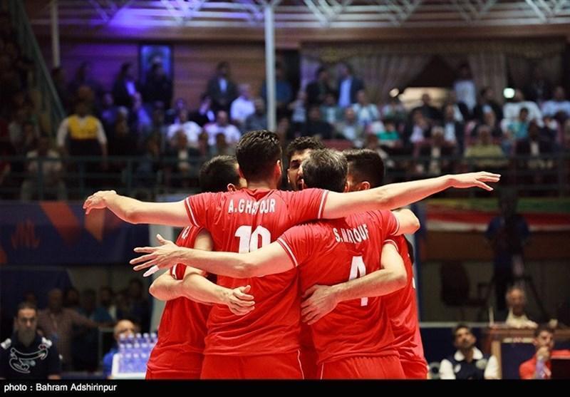 والیبال قهرمانی آسیا، پیروزی آسان شاگردان کولاکوویچ در دومین بازی، فزونی مقابل قطر در 80 دقیقه