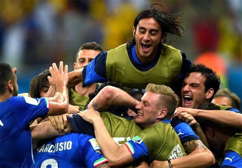 آغاز شیرین ایتالیا با پیروزی مقابل انگلیس
