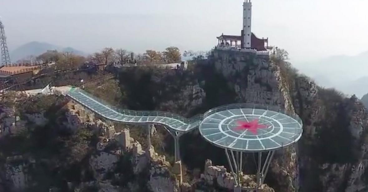 ببینید: پل شیشه ای جدید چین