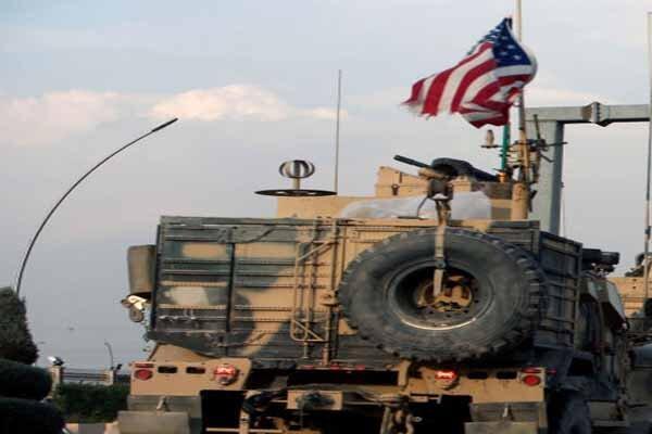 خروج 55 خودرو حامل تجهیزات نظامی آمریکایی از سوریه به سمت عراق