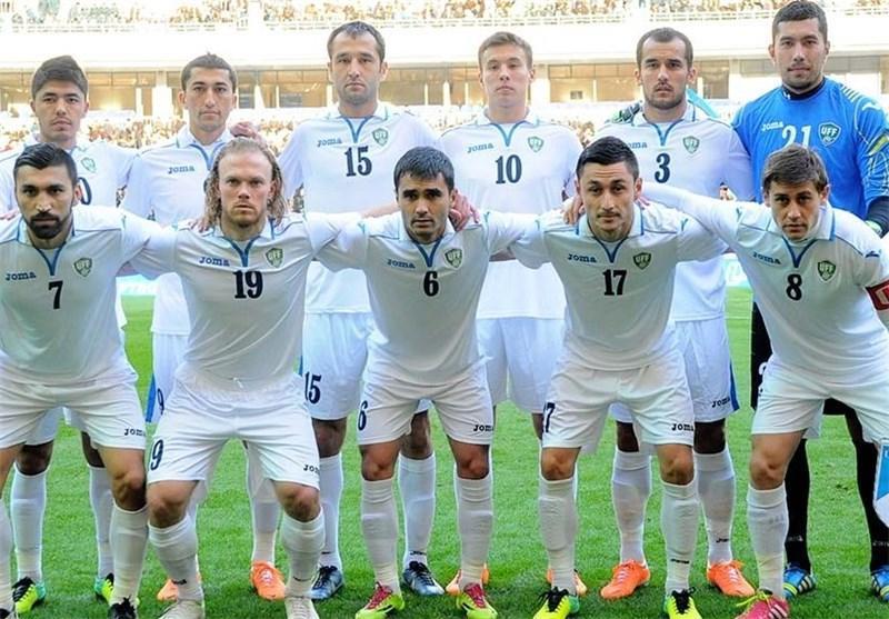 پیروزی یک نیمه ای ازبکستان مقابل چین
