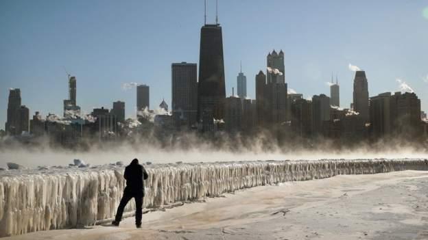 سرمای بی سابقه در آمریکا جان 8 نفر را گرفت