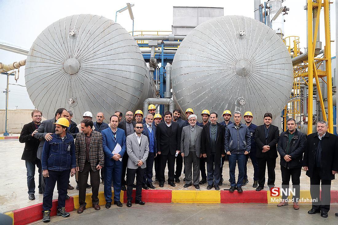 کارخانه کربن بارد تهران افتتاح شد