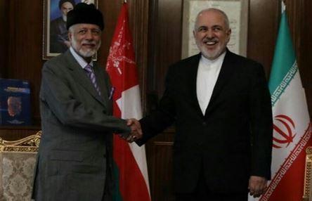 وزرای خارجه ایران و عمان در تهران به مصاحبه نشستند