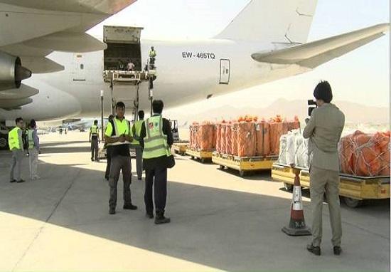توقف صادرات افغانستان به چین به وسیله هوایی