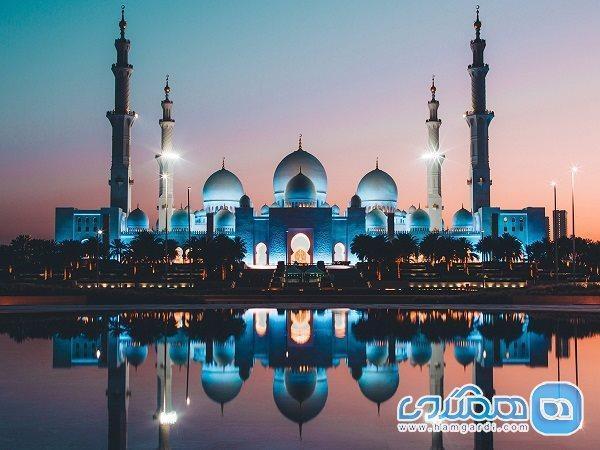 مسجد شیخ زاید؛ دیدنی بی مثال در امارات
