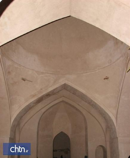 تداوم عملیات مرمتی و سامان دهی حمام تاریخی حاج فتح الله در بناب
