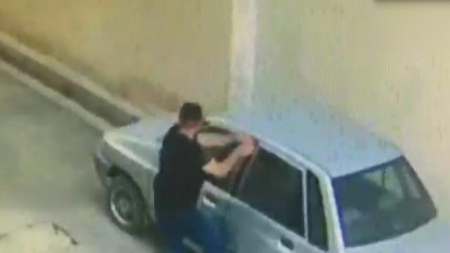 آرامش و تسلط مرد جوان هنگام سرقت پراید!