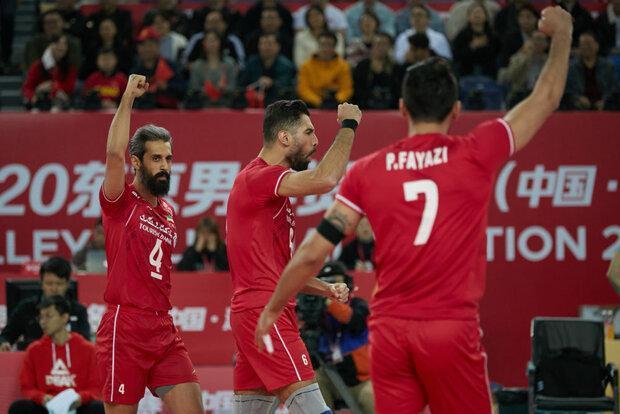 تیم ملی والیبال ایران همچنان در صندلی هشتم دنیا