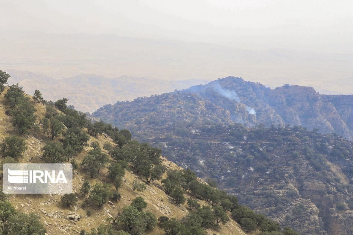 خبرنگاران 255 هکتار از عرصه های منابع طبیعی بهمئی در آتش سوخت