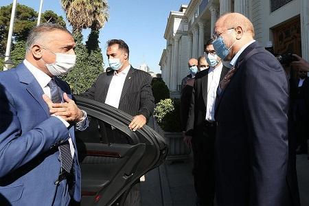 نخست وزیر عراق با قالیباف دیدار کرد