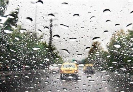 تداوم بارش های پراکنده در کشور تا روز پنجشنبه