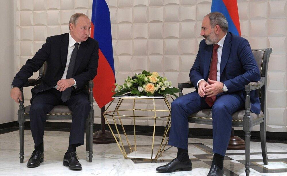 نخست وزیر ارمنستان از پوتین درخواست یاری کرد