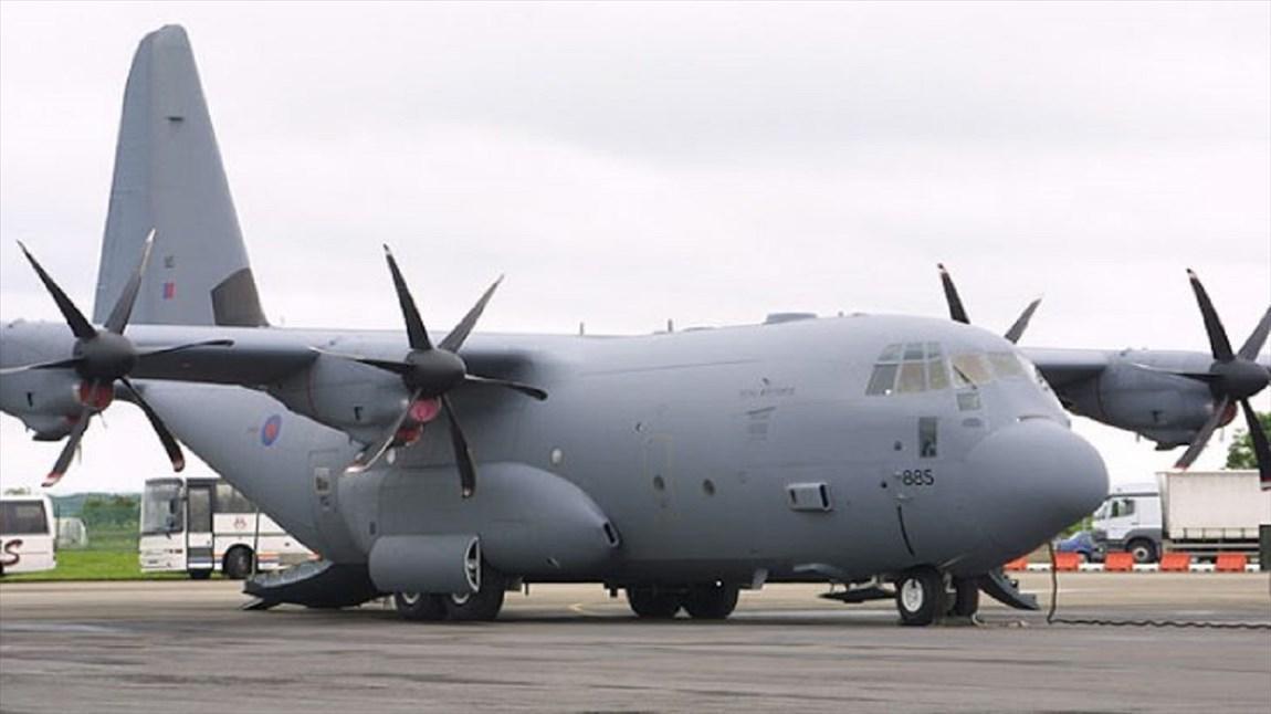 هواپیمای نظامی آمریکا در اوکراین فرود اضطراری کرد