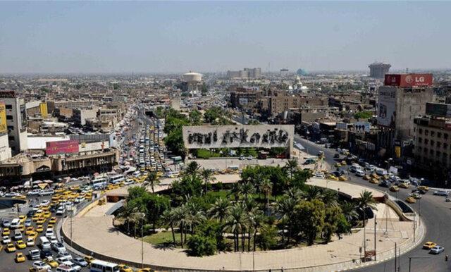 آرامش در میدان التحریر بغداد پس از کاهش تظاهرکنندگان