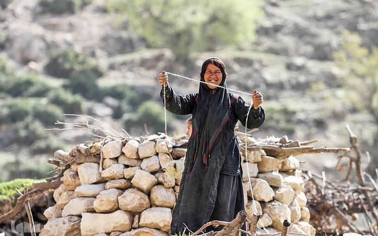 خرسند ترین مردم ایران در روستای بی آبی