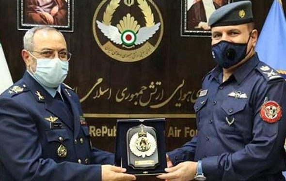 همکاری نیروی هوایی ایران و عراق در مبارزه با تروریست های تکفیری