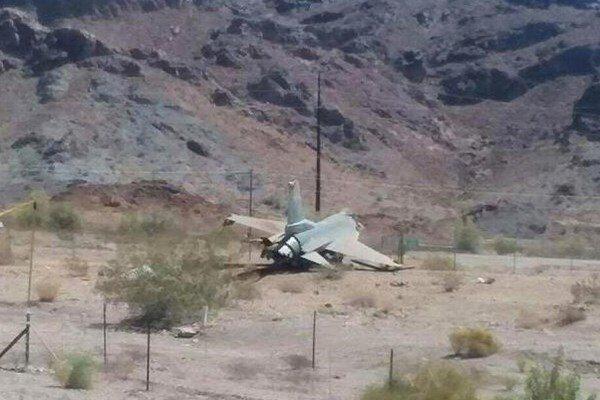 سقوط یک فروند جنگنده اف 16 آمریکا در میشیگان