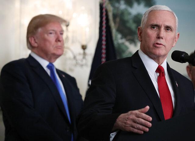 التماس ترامپ به مایک پنس برای تغییر نتیجه انتخابات