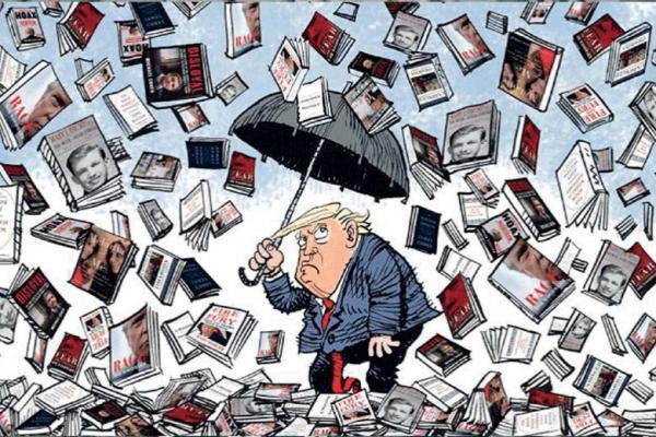 کتاب هایی که کار دست ترامپ داد