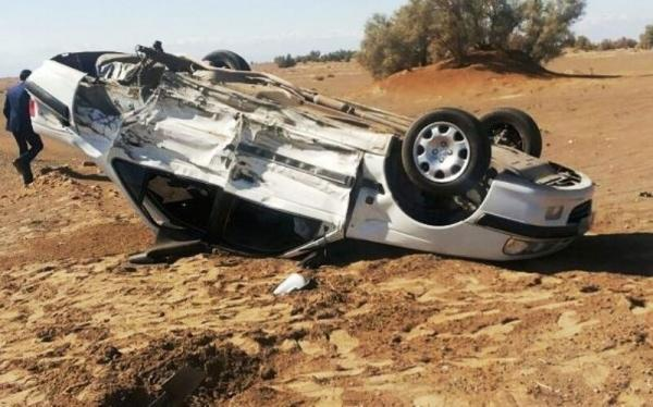 خبرنگاران واژگونی خودرو علت تمامی تصادفات فوتی خراسان جنوبی است