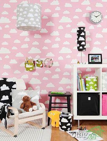 ایده های بسیار شیک برای نقاشی دیوار اتاق بچه
