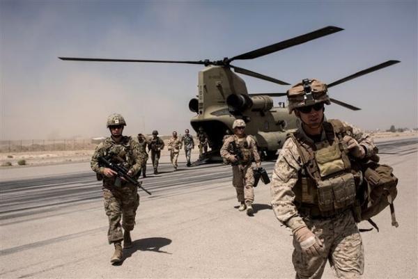 شروع خروج نیروهای آمریکا و ناتو از افغانستان