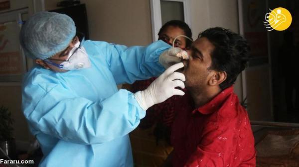 (تصاویر) گسترش بیماری قارچ سیاه در هند
